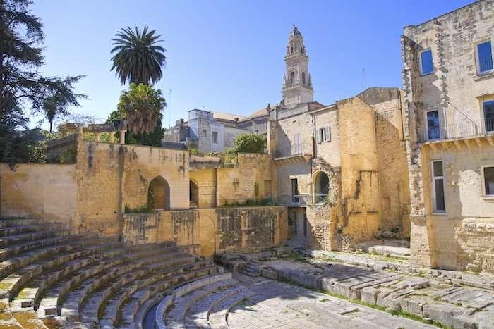 Lecce's Roman amphitheatre