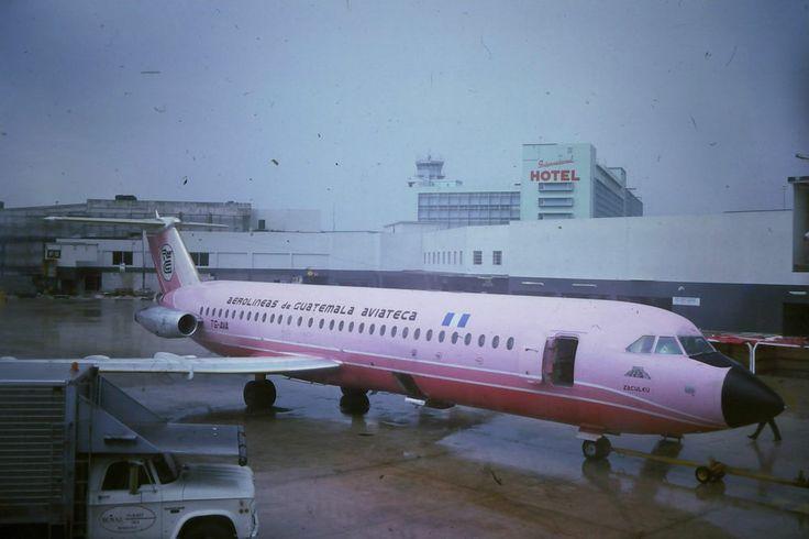 Aviateca BAC1-11 ex Court Line TG-AVA