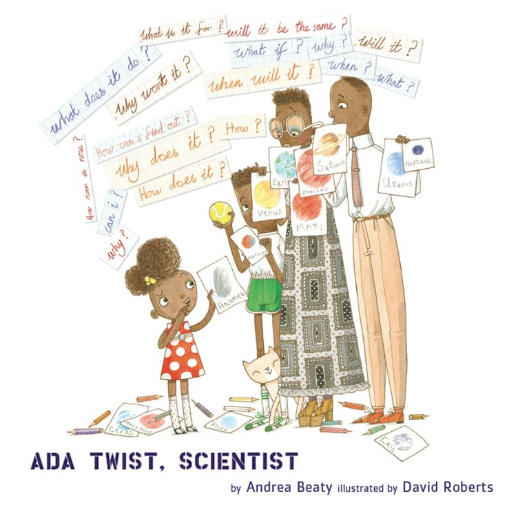 Adore this new #STEM book from @AndreaBeaty and David Roberts!