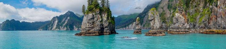 Turquoise ocean and cliffs in Alaska by Robert Tetzlaff - Photo 106690719 / 500px