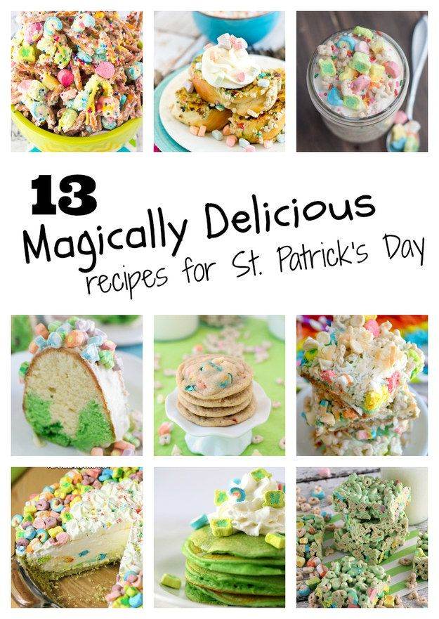 13 Magically Delicious Recipes For St. Patrick's Day