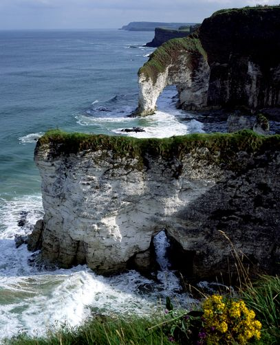 White Rocks, County Antrim, Northern Ireland.
