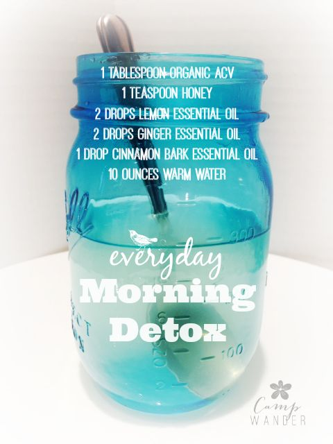 """This is a quick post about a morning tea I've """"learned"""" to love on my 2014 journey to detoxify my body,..."""