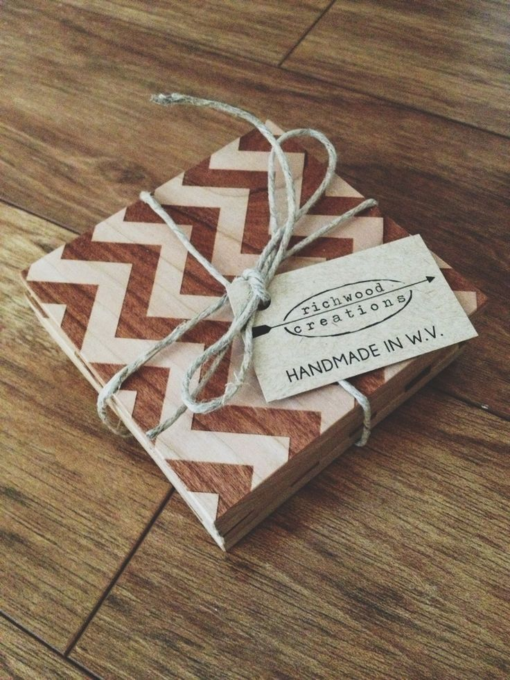 Loving These Wood Coasters Handmade By An Old Friend And Her Husband.