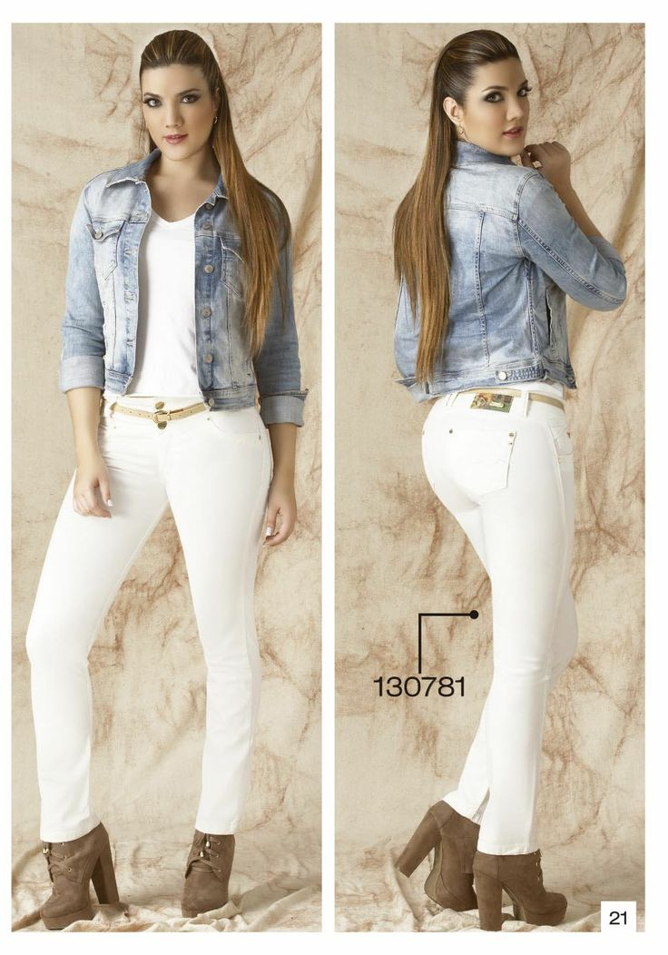 Pantalon De Drill Bota Tubo Color Blanco Outfist Pinterest Colores Blancos Blanco Y Color