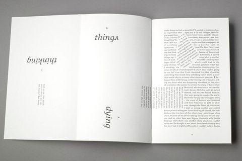 Actualité / La lecture dans tous les sens / étapes: design & culture visuelle