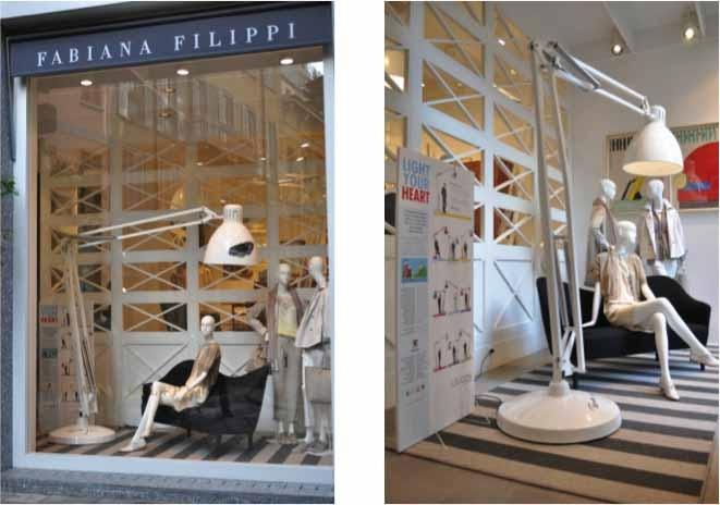 The Great JJ @fabiana : : milpares.com Filippi in Milan LightYourHeart
