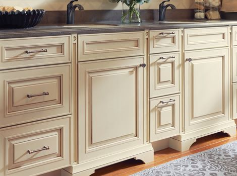 Kraft maid siegan bathroom re do pinterest products cocoa and glaze - Kraftmaid bathroom cabinets catalog ...
