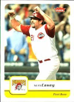 2006 Fleer #318 Sean Casey Front