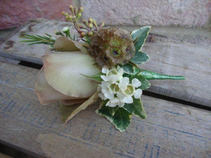 Corinne Turner florist buttonhole
