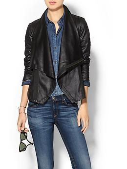 SW3 Bespoke Queensway Faux Leather Jacket. Love the style, hate the price.