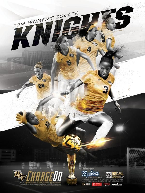 The PosterSwag.com Top 2014 NCAA Soccer Schedule Posters | Sport Poster Swag