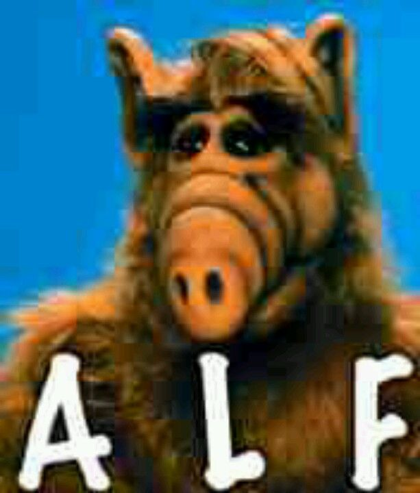 Alf an old 80's TV show