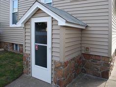 how to build a outside basement entrance - Google Search