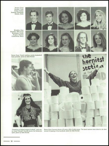 1992 Stratford High School Yearbook via Classmates.com