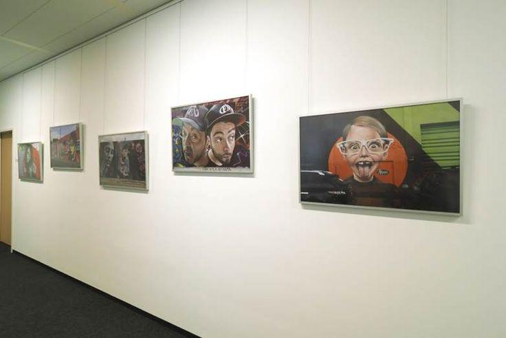 Bosch Ausstellung zeigt Wynwood Walls gerahmt in HALBE-Rahmen, Fotografien von Rainer Horn.