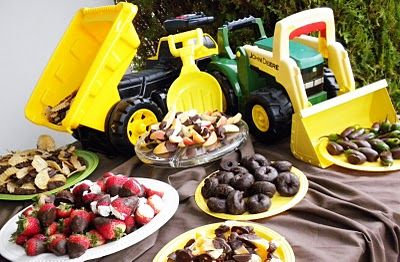 John Deere baby shower...what's not to like?