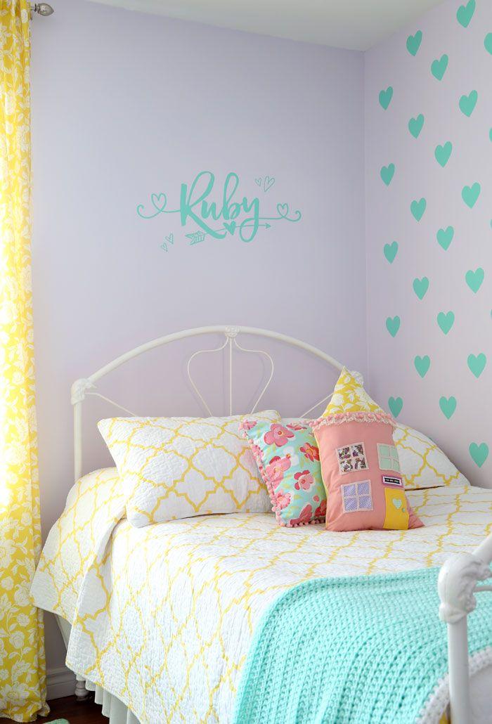 Girls Bedroom Decor  A Fresh Makeover