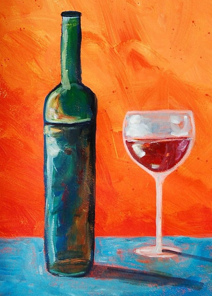 39 best images about art class acrylic projects on for How to paint bottles with acrylic