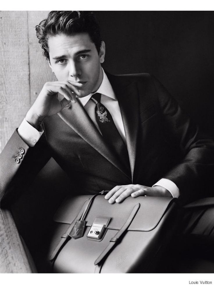 Xavier Dolan chic et classe pour Louis Vuitton (actor/director) (please follow minkshmink on pinterest)