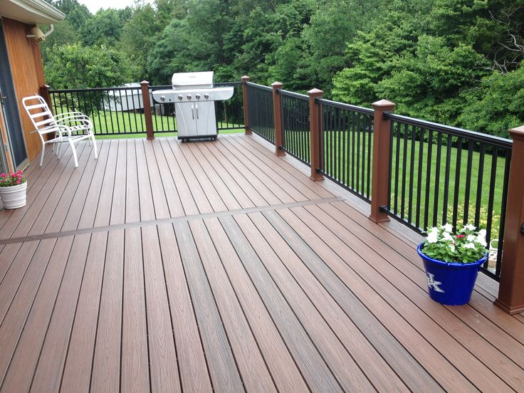17 best images about trex deck at green river lake on for Garden decking for sale