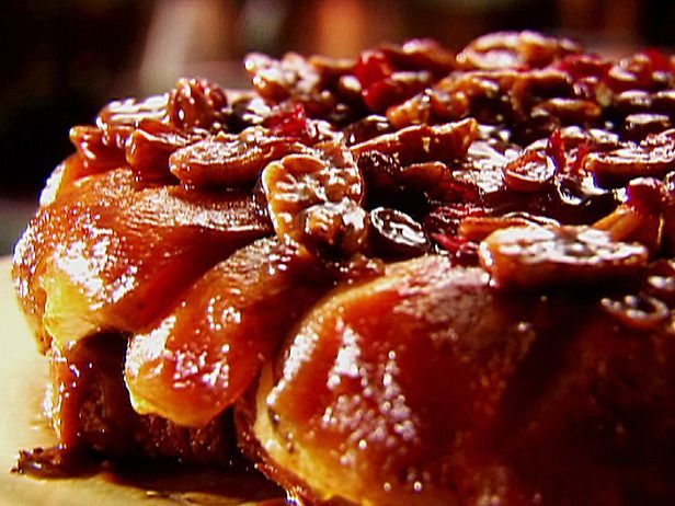 Upside-Down Apple French Toast with Cranberries and Pecans - my go-to recipe for a fancy brunch dish. . .delicious!
