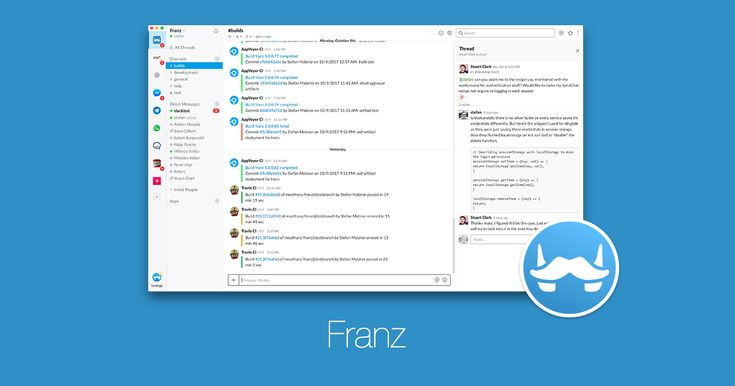 Franz 5 One desktop app for (almost) all of your messaging