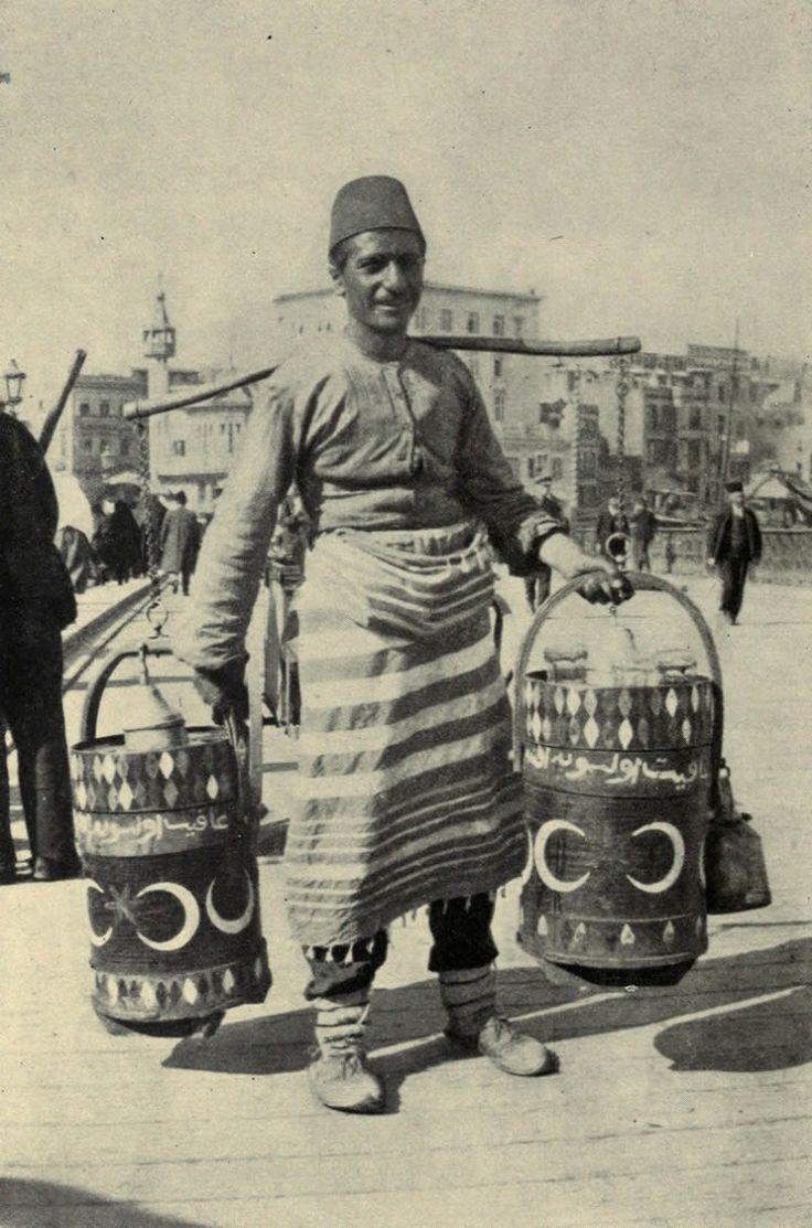 Seller of Juice - Late-Ottoman era (end of 19th century).