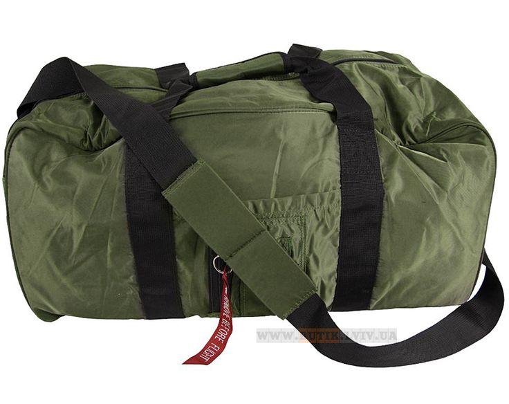 Сумка Alpha Industries Medium Gear Bag (оливкова)  Наявність: під замовлення  Ціна: 36 $