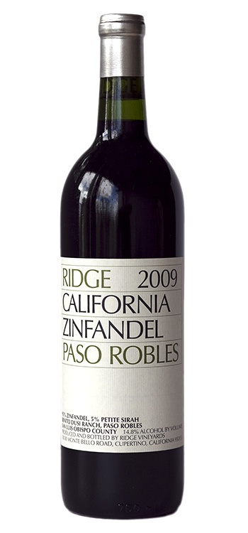 Ridge 2009 Zinfandel - Paso Robles: Oh my, is this good.