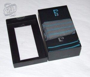Skarpetki męskie Pierre Cardin eleganckie pudełko.