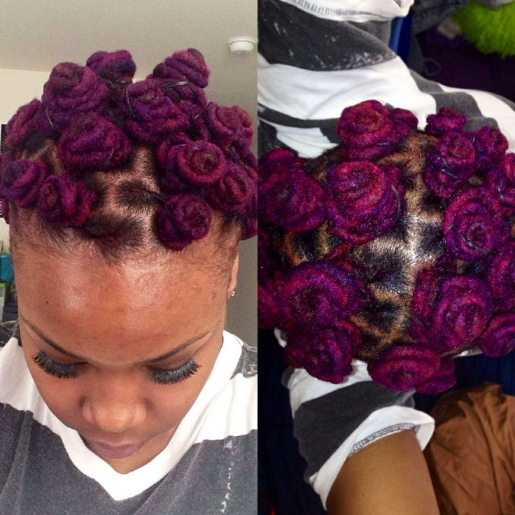 pictures of crochet hair styles 62 best purple locs images on 1929