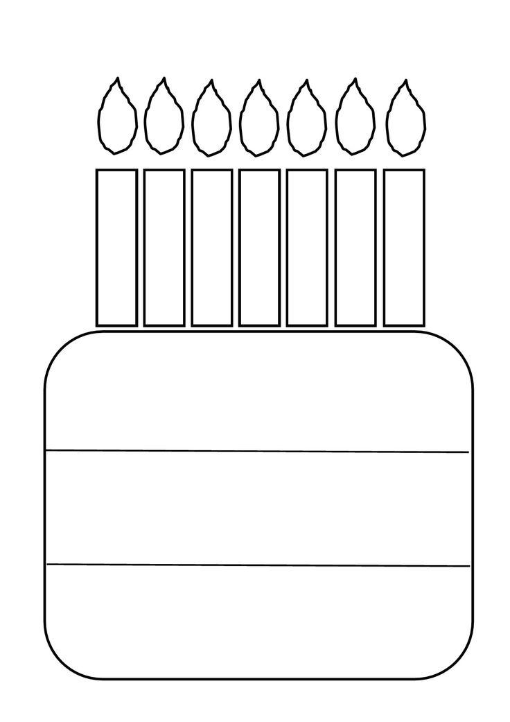 Verjaardagskalender. Eerste rij naam, tweede rij eigen versiering, onderste rij datum van het feest