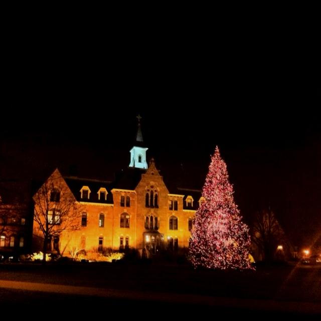 Seton Hall University at Christmas
