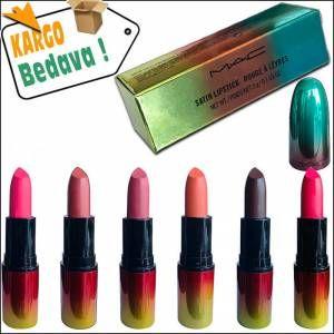 Mac Mat Ruj Lipstick 12 Farklı Renk Seçeneği 2 Adet Alana 1 Adet Bedava