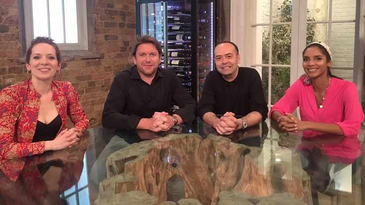 James Martin presents with help from top chefs Jose Pizarro and Shivi Ramoutar.