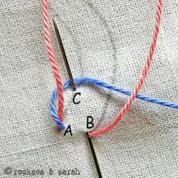 Sarah's Hand Embroidery Tutorials - she has a list on the right with links to oodles of stitch tutorials - wow!
