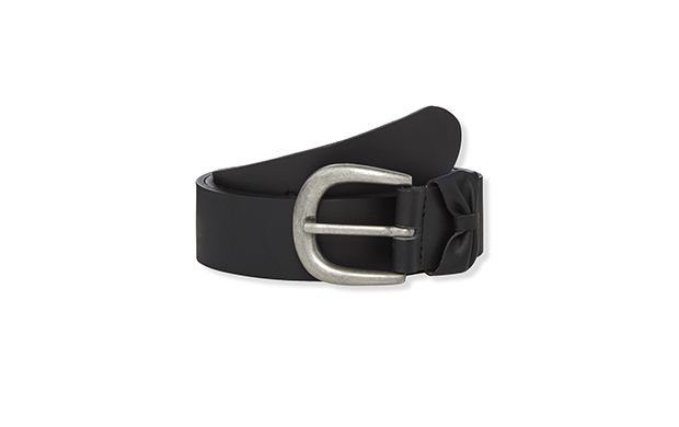 "Jeans Belt. ""Classic design means this belt will work with any outfit."""