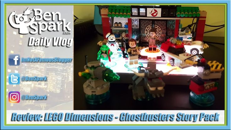 Review: LEGO Dimensions - Ghostbusters Story Pack  Warner Bros. Interactive Entertainment sent me a couple of packs from Wave 6 for free to review #sp. They were the Ghostbusters Story Pack and the Mission Impossible Level Pack. I already reviewed the Mission Impossible Level Pack and today I give you the Ghostbusters Story Pack.