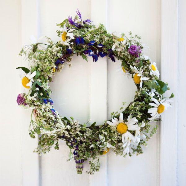 Margariten, Glockenblumen  Co: Die Schweden lieben frisch gepflückte Wiesenblumen.