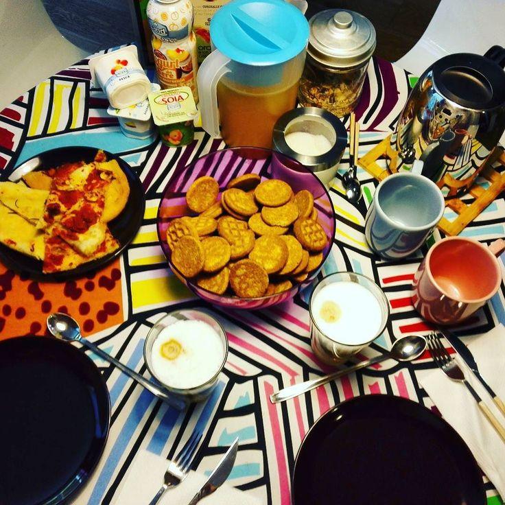 Buon giorno! #breakfast #november #yummy #sweet #salty #love