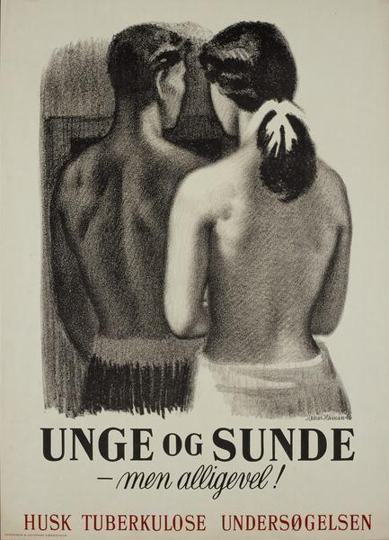 Aage Sikker Hansen - Tuberculosis Awareness Poster