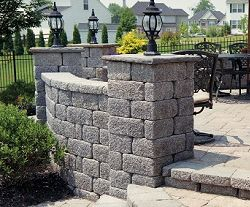 keystone country manor retaining wall blocks patio on wall blocks id=48532