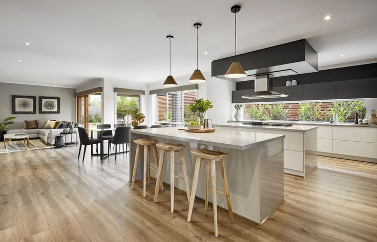 Granvue Homes Premium Series - Melanite Kitchen and Living areas