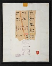 The fleamarket, the logbook of the ship of Henry David Thoreau by Viktor IV