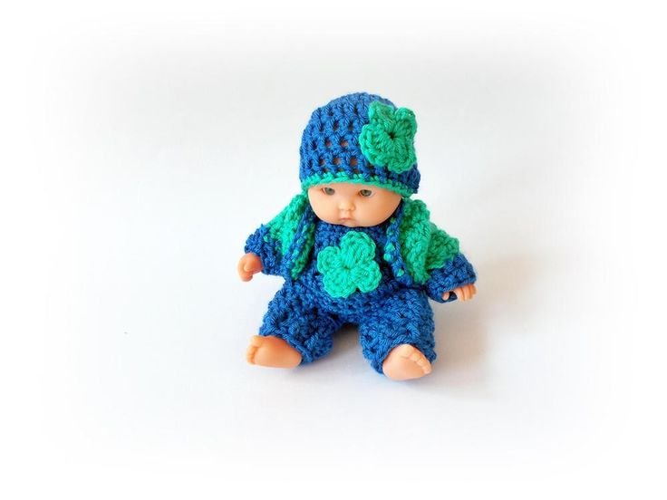 Baby Doll Clothes Crochet Baby Doll Clothing Crochet Baby Doll Clothes Set Crochet Baby Doll home decor