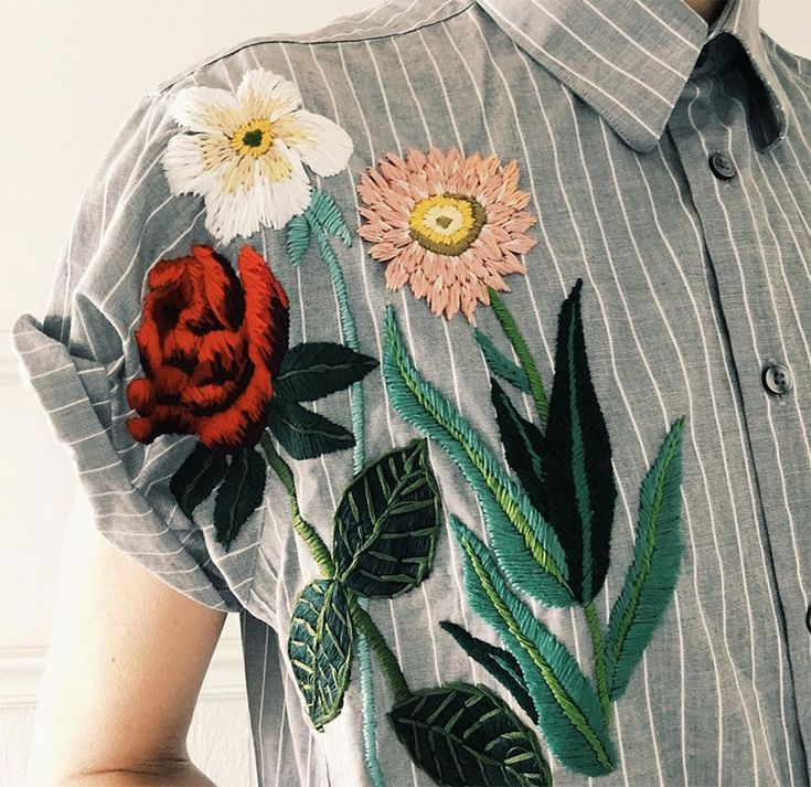 Tessa Perlow's Embroidery + Best of the Web