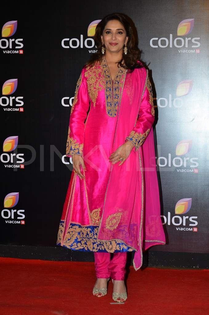 Madhuri Dixit at Colors' party