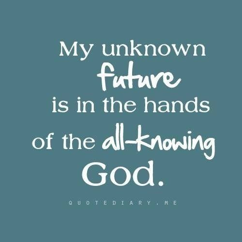 I have a faithful God who loves me!!! He cannot fail and He will not let me down!!!