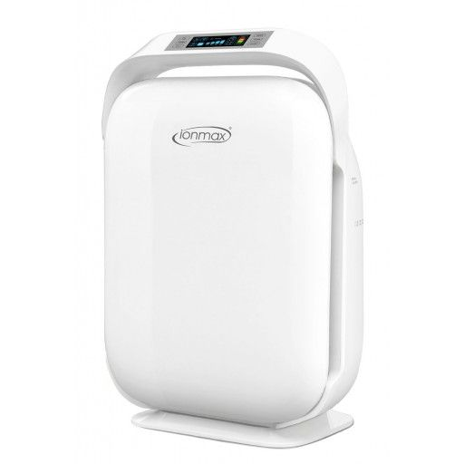The Ionmax ION450 Premium Home Air Purifier offers complete air purification with five levels of filtration - Pre-Filter, HEPA Filter, Carbon Filter, UV Sanitisation and Negative Ionisation. Designed with a soft touch LED light up control panel, air quality indicator and various modes, the ION450 air purifier combines efficient air purification with premium design making it perfect for any home.